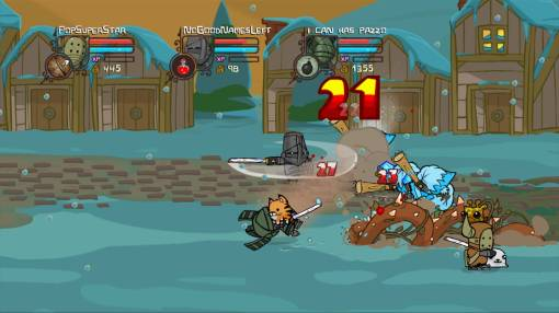 Castle Crashers PSN Screenshot