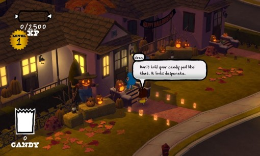 Costume Quest PSN Screenshot