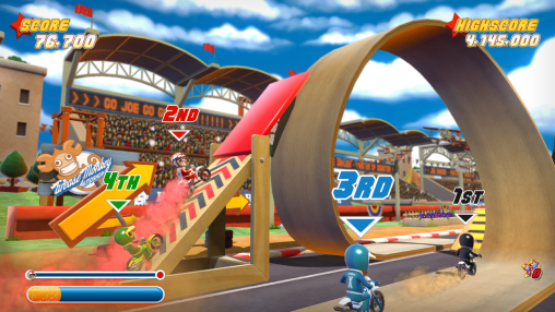 Joe Danger PSN Screenshot