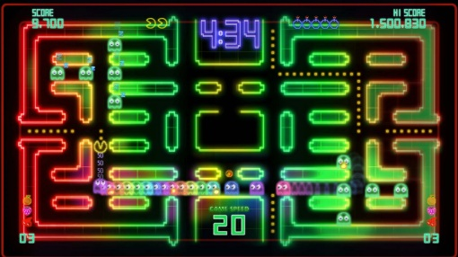Pac-Man Championship Edition DX PSN Screenshot