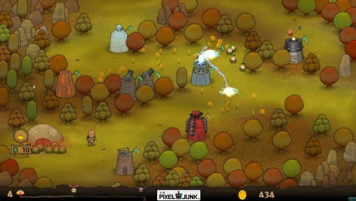 PixelJunk Monsters PSN Screenshot