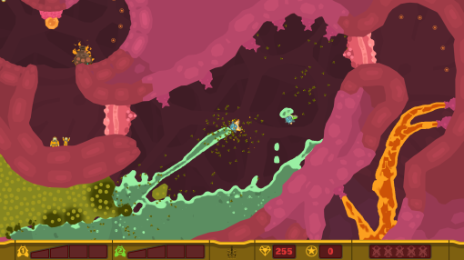 PixelJunk Shooter 2 PSN Screenshot